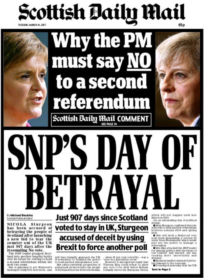 Scotref newspaper front pages | (Still) Yes Highland