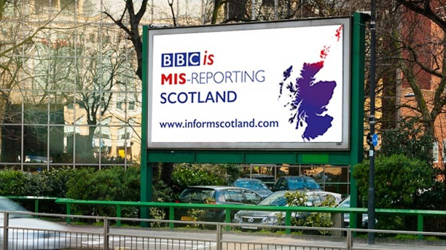 Inform Scotland Billboard